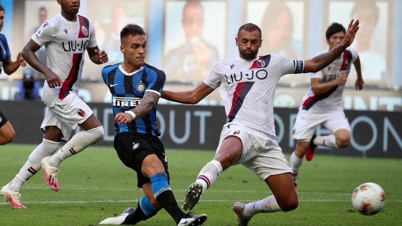 Inter-Bologna 1-2, il tabellino