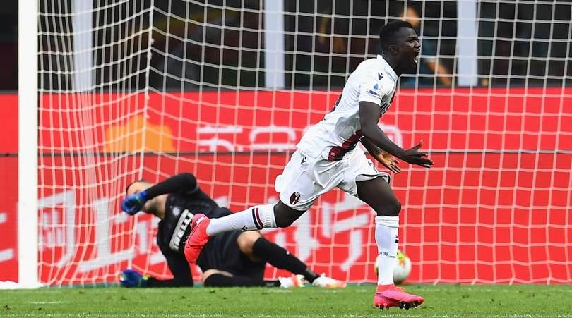Inter-Bologna 1-2: Lukaku non basta, Juwara e Barrow stendono Conte