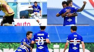Samp trascinata da Linetty e Gabbiadini. Contro la Spal è 3-0