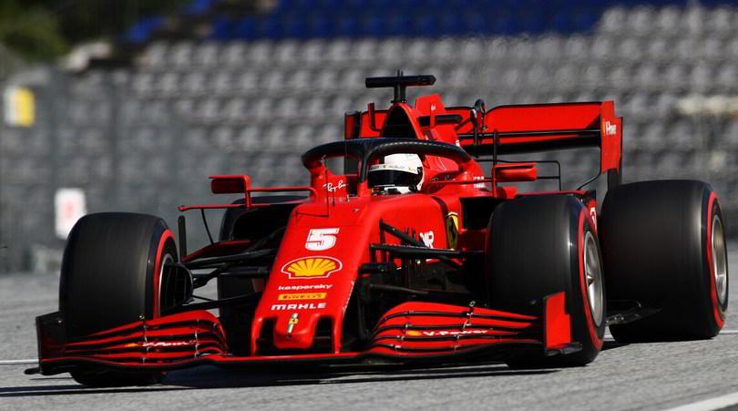 Vettel furioso con la Ferrari, scintille con Binotto