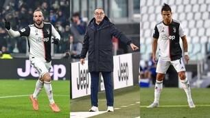 Milan-Juve: la probabile formazione di Sarri