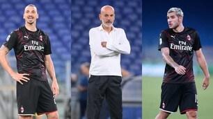 Milan-Juve: la probabile formazione di Pioli