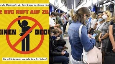 Coronavirus, in Germania stop al deodorante: più si puzza, più si usano le mascherine