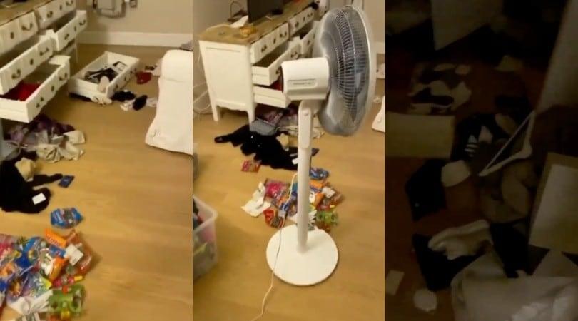 Ribery, il video choc della rapina in casa