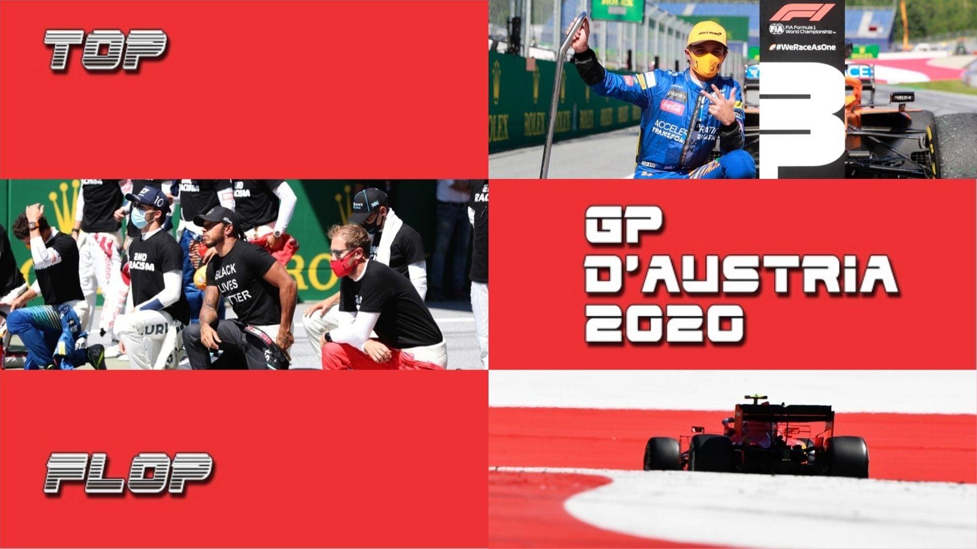 F1, Gp Austria: la classifica Top e Flop