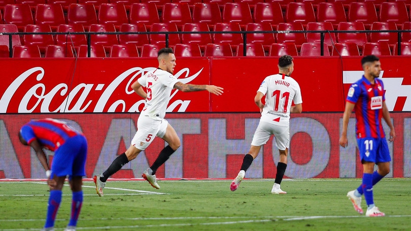 Al Siviglia basta Ocampos, la Real Sociedad stecca
