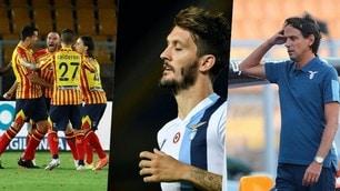 La Lazio cade a Lecce: rabbia e delusione, Juve distante