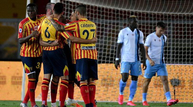 Lecce-Lazio 2-1: seconda sconfitta di fila per Inzaghi