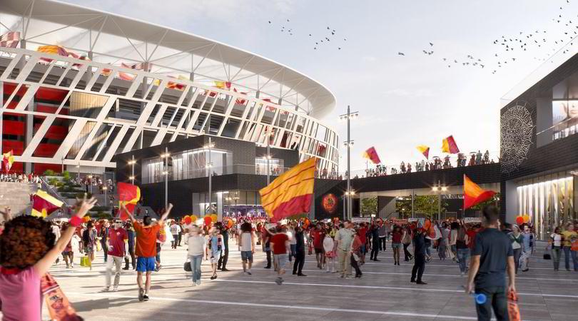 Roma, nulla osta al progetto stadio. Manca solo un ultimo step