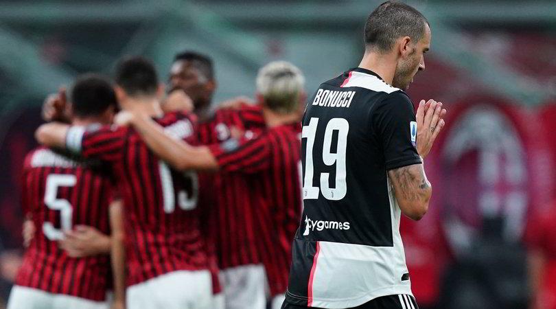 Pagelle Milan-Juve: da Sarri a Bonucci, che flop!