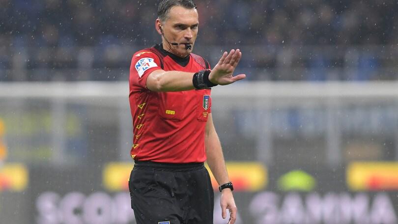 Arbitri A, Irrati per Verona-Inter. Spal-Udinese a Chiffi