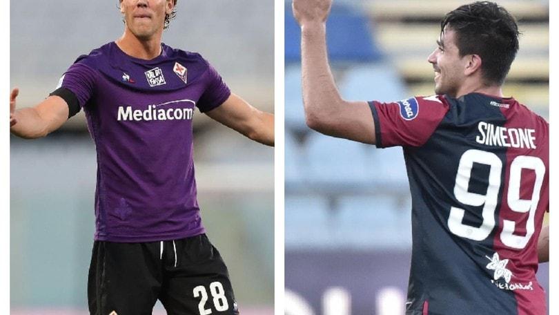 Fiorentina-Cagliari: Vlahovic contro Simeone, a parlare saranno i gol