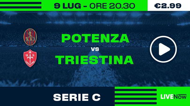 Juventus U23-Padova e Potenza-Triestina in diretta su LIVENow
