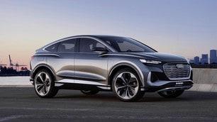 Audi Q4 Sportback e-tron concept: tutte le FOTO