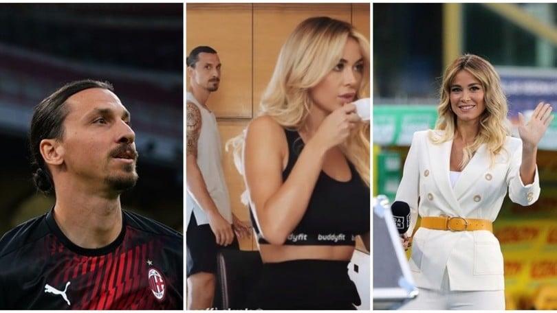 Diletta Leotta e Ibrahimovic: il feeling continua su Instagram