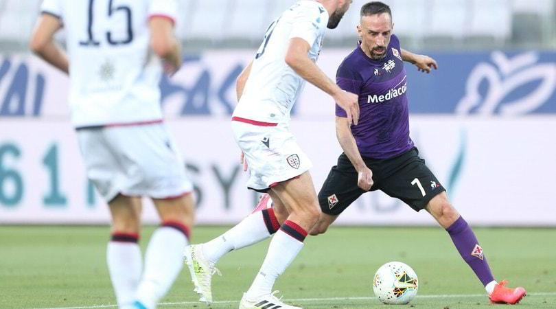 Fiorentina-Cagliari 0-0: Ribery dimentica i malumori, portieri protagonisti