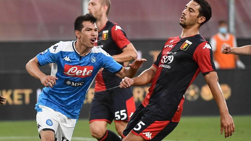 Genoa-Napoli 1-2, il tabellino
