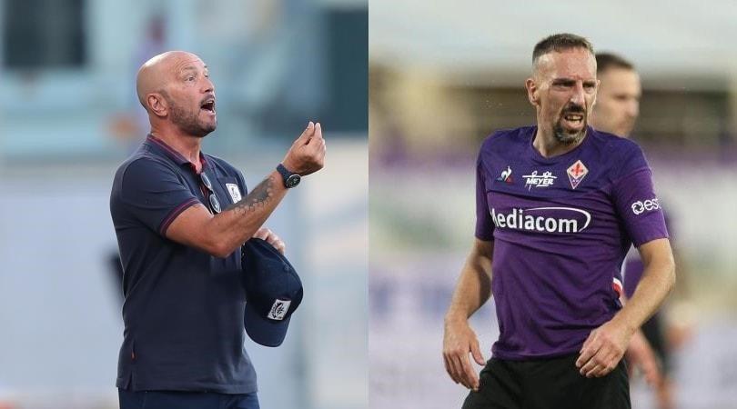 Fiorentina-Cagliari 0-0, Zenga show in panchina non batte Ribery