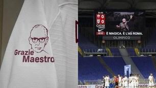 Ennio Morricone, ecco la maglia speciale che la Roma gli ha dedicato
