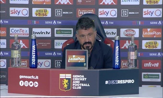 """Gattuso: """"Lozano? Non gli regalo niente, merita quello che ha"""""""