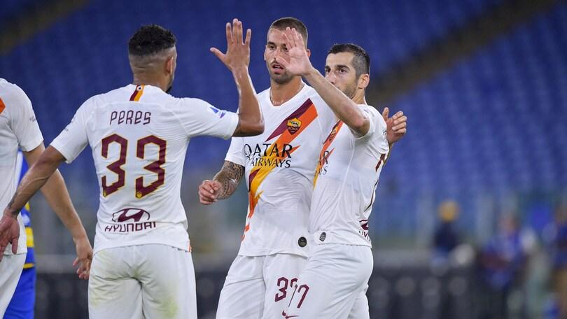 Roma, Fonseca perde Mkhitaryan e Cristante per la gara contro il Brescia