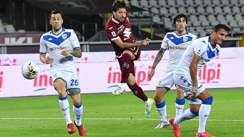 Torino-Brescia 3-1, il tabellino