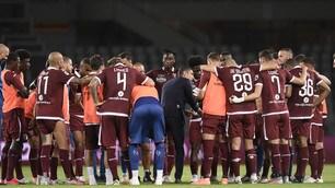 Torino, Longo parla alla squadra dopo la vittoria sul Brescia