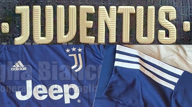 Juve, la nuova maglia blu notte da trasferta