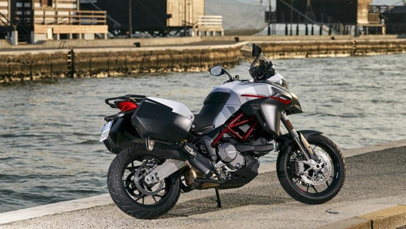 Ducati Multistrada 950 S è anche GP White