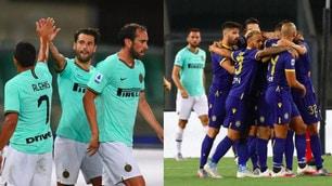 Candreva illude l'Inter, Veloso regala il pari al Verona
