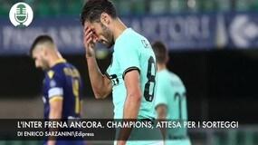 L'Inter frena ancora. Champions, attesa per i sorteggi