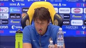 """Conte: """"Oggi sereno, con il Bologna ero arrabbiato"""""""