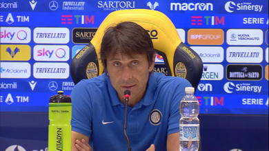 """Conte: """"Volevo portarmi a -8 dalla Juve"""""""