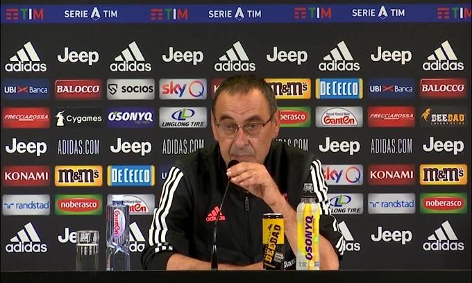 """Sarri: """"Milan? Avremmo perso anche con Dybala"""""""