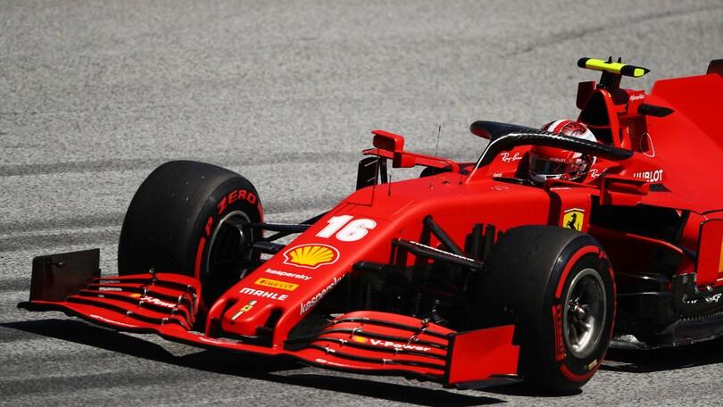 GP Stiria, Leclerc si scusa con Vettel: