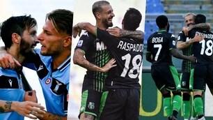 Lazio punita anche dal Sassuolo: Luis Alberto non basta, Caputo colpo da ko