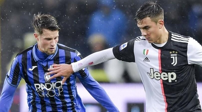 Diretta Juve-Atalanta ore 21.45: come vederla in tv, in streaming e formazioni ufficiali