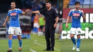 Napoli-Milan: la probabile formazione di Gattuso