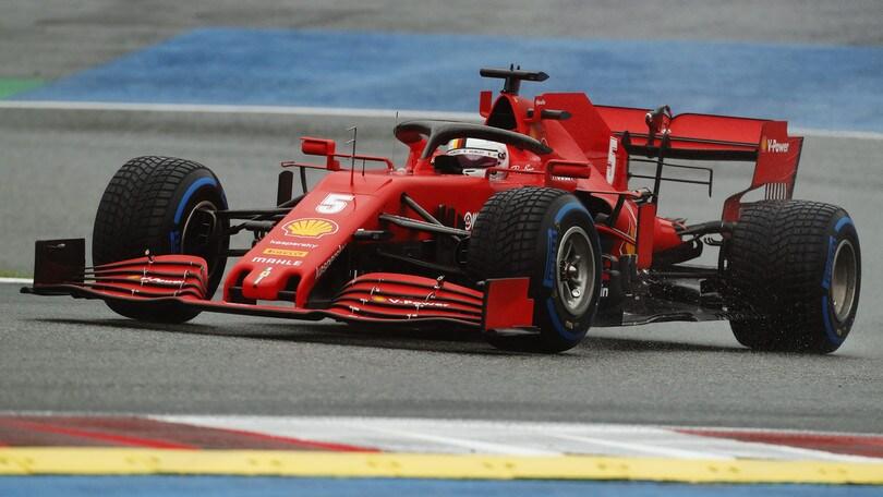 """GP Stiria, Vettel furioso con Leclerc: """"Mi ha attaccato senza avere spazio"""""""