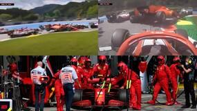 Trauma Ferrari! Incidente tra Leclerc e Vettel