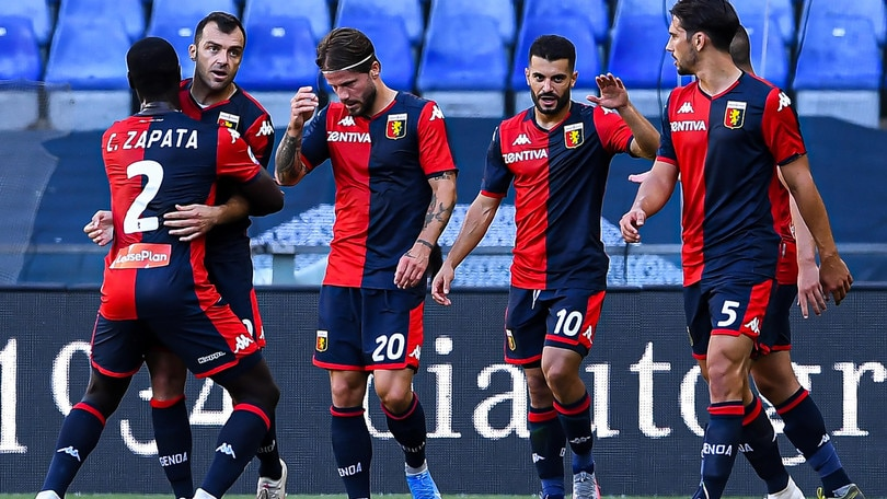 Genoa-Spal 2-0: Pandev e Schone puniscono Di Biagio