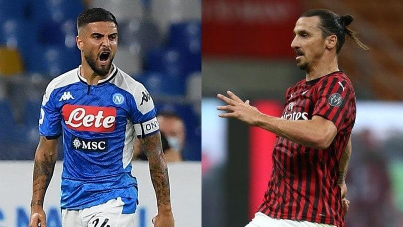 Diretta Napoli-Milan: formazioni ufficiali e dove vederla in tv