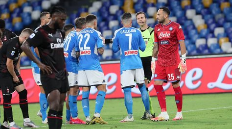 Napoli-Milan 2-2: Pioli acciuffa Gattuso