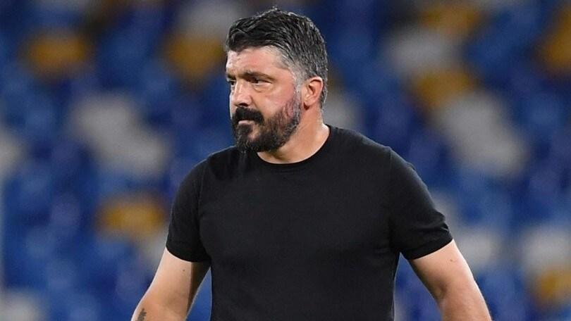 "Napoli, Gattuso: ""Callejon resta? Chiedete a De Laurentiis e Giuntoli"""