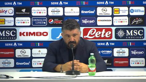 """Gattuso: """"Maldini può solo far bene al Milan. Io spero di restare a lungo a Napoli..."""""""