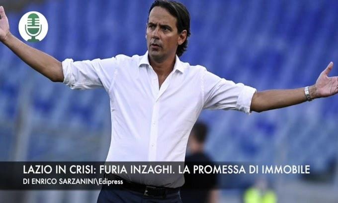 Crisi Lazio: la rabbia di Inzaghi e la promessa di Immobile