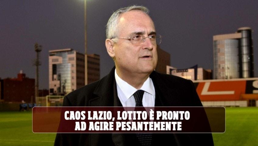 Caos Lazio, Lotito ora è pronto ad agire pesantemente