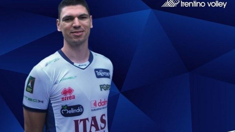 Trento: ufficializzato l'arrivo di Marko Podrascanin