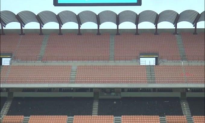 La Lega Serie A vorrebbe chiudere il campionato con gli stadi aperti