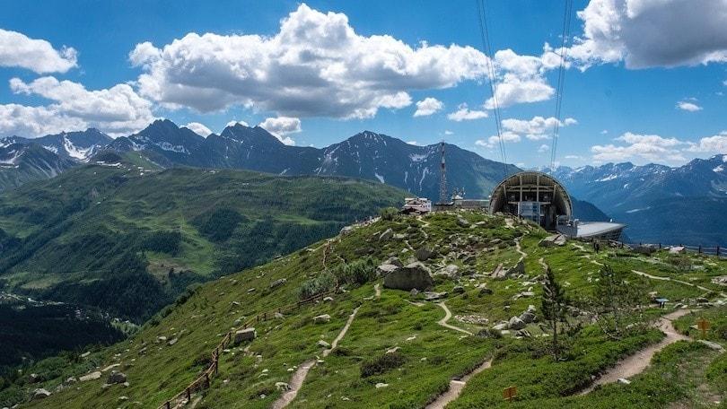 Courmayeur, tra la montagna e il cielo